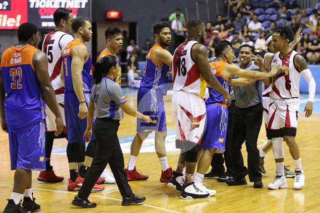 Chris Ross has piece of advice for Roger Pogoy after altercation in tense SMB-TNT rematch