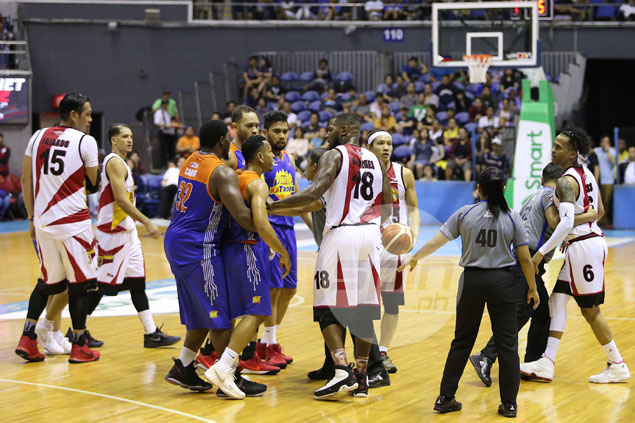 San Miguel Beer asserts mastery of TNT KaTropa in heated grudge match