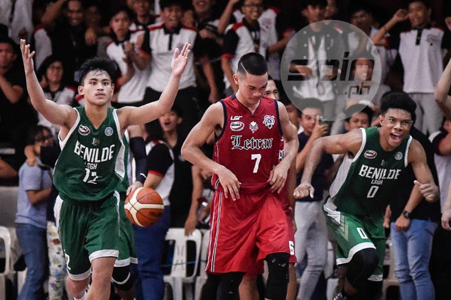 LSGH Greenies overcome late wobble to squeak past Letran Squires and keep slate unblemished