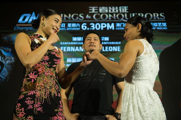 Pinay fighter Jomary Torres uncomfortable in spotlight, but vows to let fists do talking