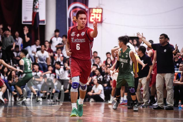 Rey Nambatac gives Letran home fans a game to remember in final season before joining PBA