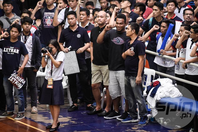 Former Letran star Willie Miller thrilled to see NCAA teams play before home fans