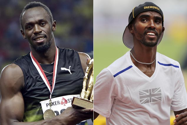 Usain Bolt, Mo Farah expected to open World Athletics Championships with a bang