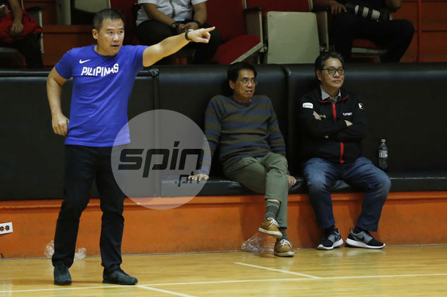 Chot Reyes counting on Fajardo-less Gilas to make up for lack of size with bigger heart