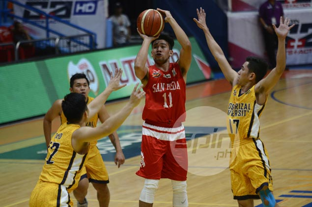 Clint Doliguez takes charge for ailing San Beda as Red Lions hold off Heavy Bombers