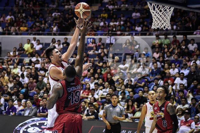 Star Hotshots weather endgame storm to deal Fajardo-less San Miguel a rare defeat