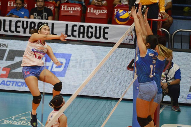 Valdez-less Creamline sustains unbeaten run, closes in on PVL Open finals with five-set win over BaliPure