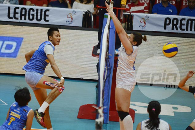 Air Force exacts payback with easy win over Pocari to draw first blood in PVL semis clash