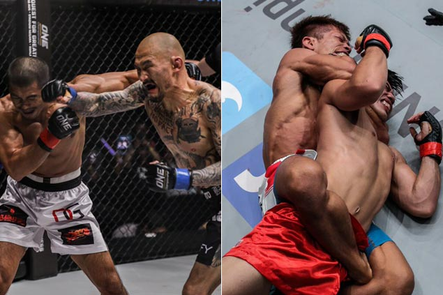 Japanese foes show class in disposing PH fighters Eric Kelly, Joshua Pacio in ONE Macau card