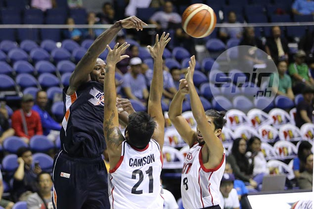 Import Allen Durham proud to show he can also dish it off like coach Jimmy Alapag