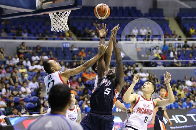Allen Durham's triple-double too much for KIA as Meralco makes it four wins out of four