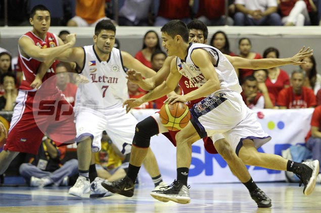 Letran official explains why Knights always in blue or red, never wear 'light jerseys'