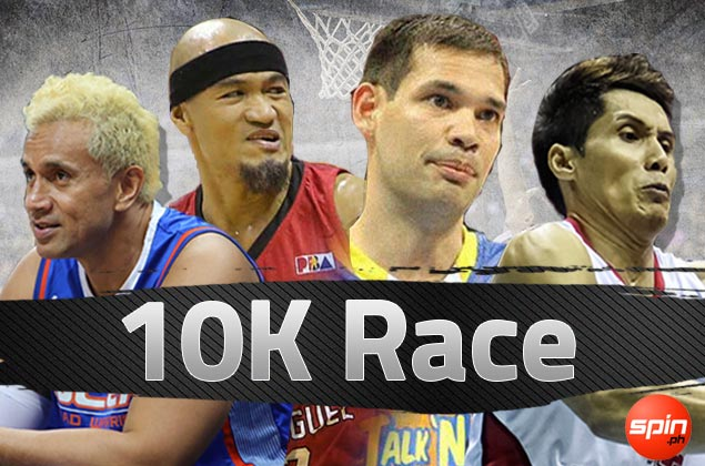 Caguioa knocking on 10,000-point club door; Seigle, Taulava, Hontiveros running out of time