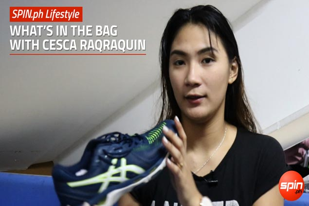 What's in the Bag series: Cesca Racraquin shares an essential pre-game tip for athletes