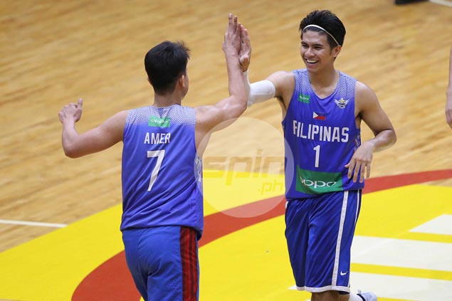 Kiefer Ravena sees no chemistry issues for Gilas despite missing bigs in SEAG buildup
