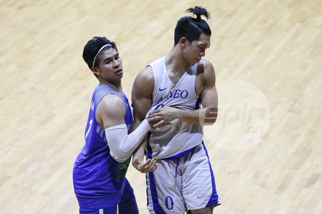 Just like old times as Kiefer and Thirdy Ravena get physical in Gilas-Ateneo tuneup