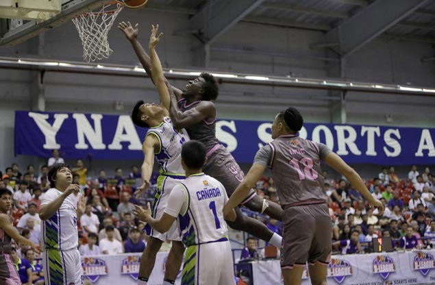 CEU import Rod Ebondo vows to do even better as 20-20 game is spoiled by Thunder