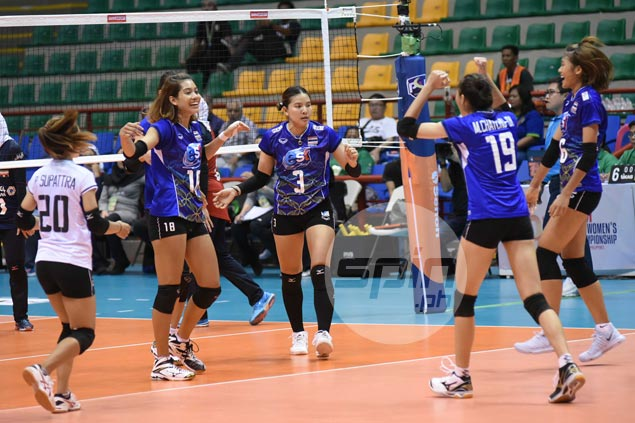 Thailand, Korea complete sweep of pool play in Asian Senior Women's Volleyball Championships