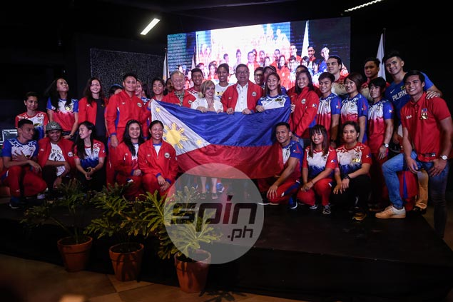 Philippine athletes bound for SEA Games urged to fly the flag with pride and guts