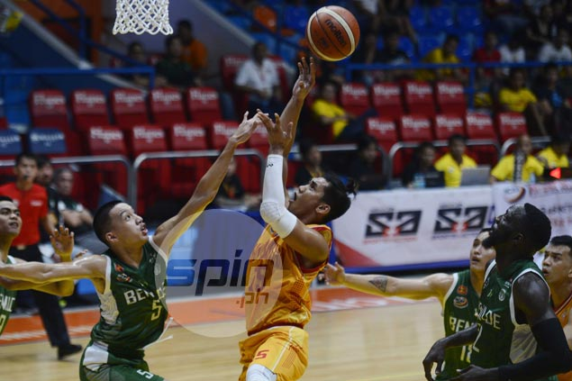 Egay Macaraya all praises for Alfren Gayosa, says Stags forward has what it takes to make the pros