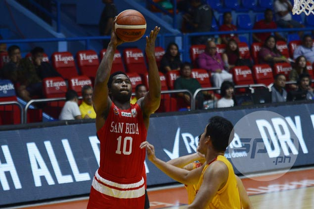 With Donald Tankoua close to top form, San Beda proves too much for undermanned Mapua