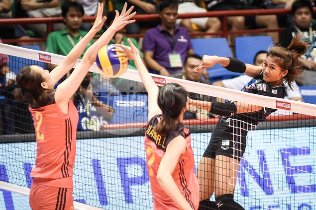 Kazakhstan recovers from a set down to beat Vietnam as Thailand edges China in five in Asian volley tilt