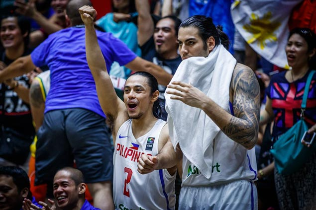 Standhardinger a game time decision for Gilas vs Qatar owing to severe stiff neck, shoulder