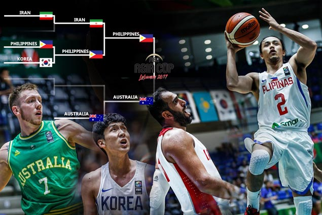 Three mountains, each one distinct from the other, stand between Gilas and Asian title