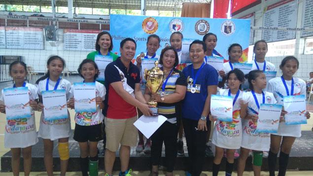 Kabacan Elementary School rules Kadayawan Girls Volleyball tournament