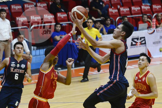Ambohot suffers setback as rising Letran star likely out two months due to wrist fracture