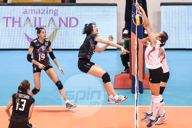 Thai starPleumjit Thinkaow lauds improvement of PH team, sees Pinay spikers contending in SEAG