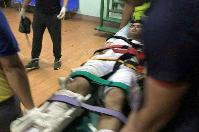 Ateneo de Cebu guard star Andrew Velasco undergoes surgery after horror injury