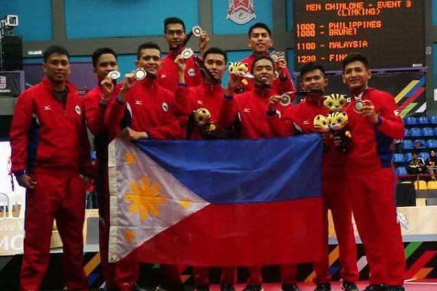 Philippines settles for silver behind Malaysia in chinlone to bag first medal in SEA Games