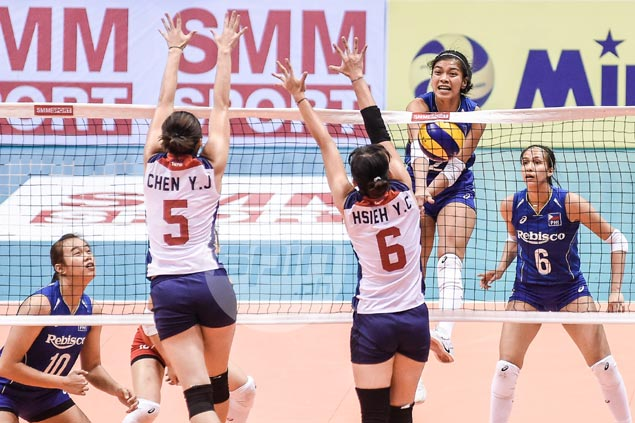 Philippines falls short vs Chinese Taipei as dream for best finish crumbles in Asian volley meet