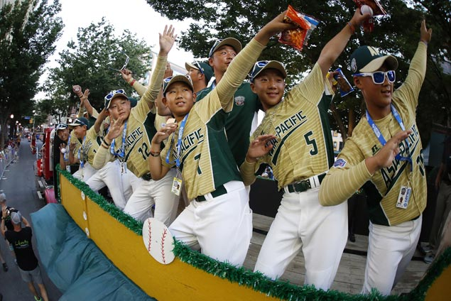 Little Leaguers all set for the big show as World Series gets underway