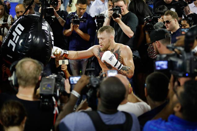 Will 8-ounce gloves improve McGregor's chances of an upset over Mayweather?