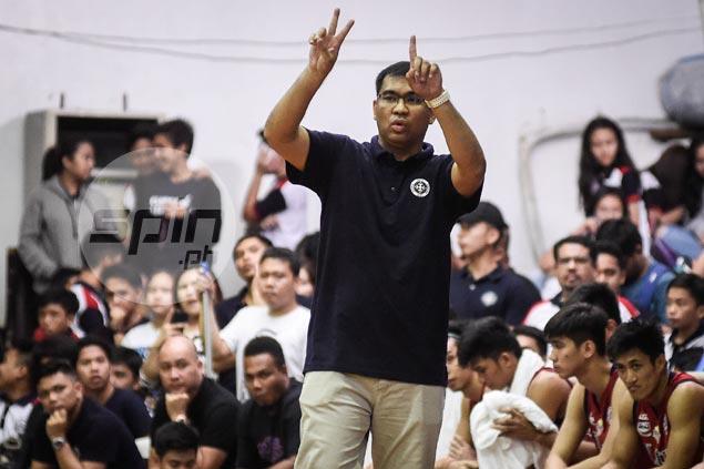 Letran coach Napa unfazed vs unbeaten Lyceum: 'Kahit sinong bumangga sa amin, gigibain namin'