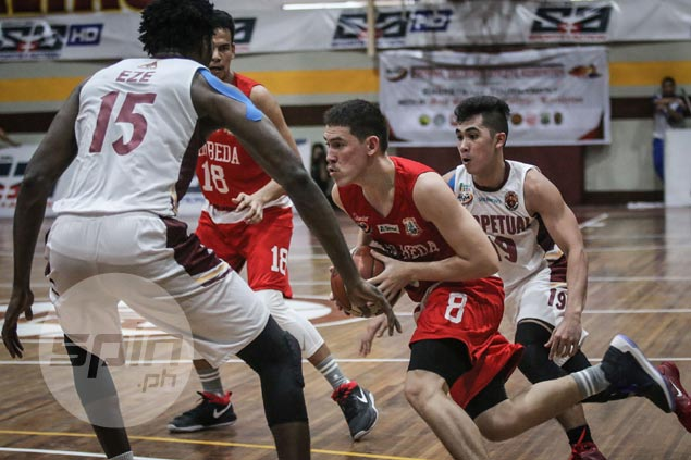Bolick, Doliguez come up clutch as San Beda edges Perpetual to stretch streak to six