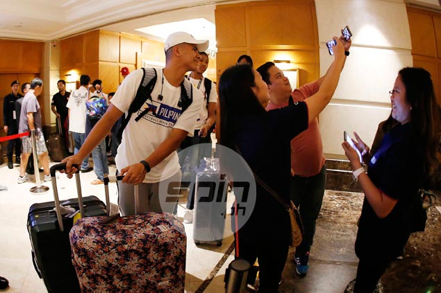 Gilas cadets ready to buckle down to work upon arrival in KL ahead of SEAG title defense