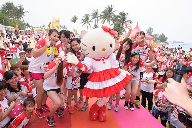 All set for 5K Hello Kitty Run Manila at SM By the Bay