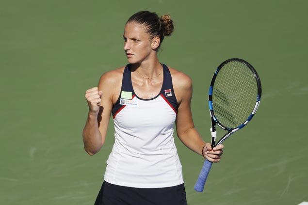 Karolina Pliskova scores two quick wins to gain Cincinnati semis as Rafael Nadal bows out