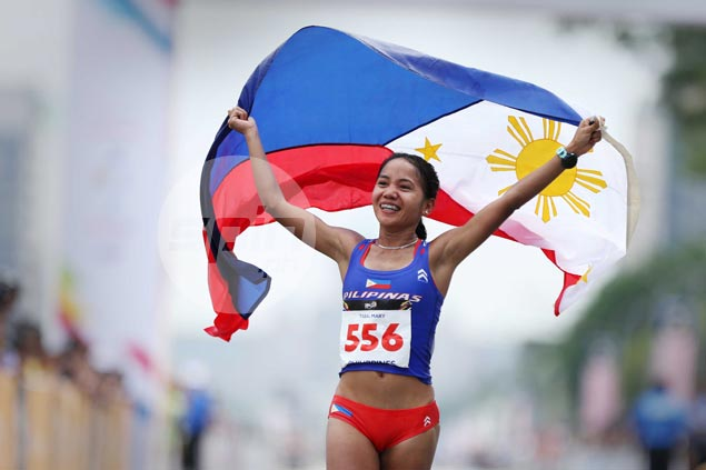 Mary Joy Tabal delivers first gold for Philippines in KL SEAG with big win in women's marathon
