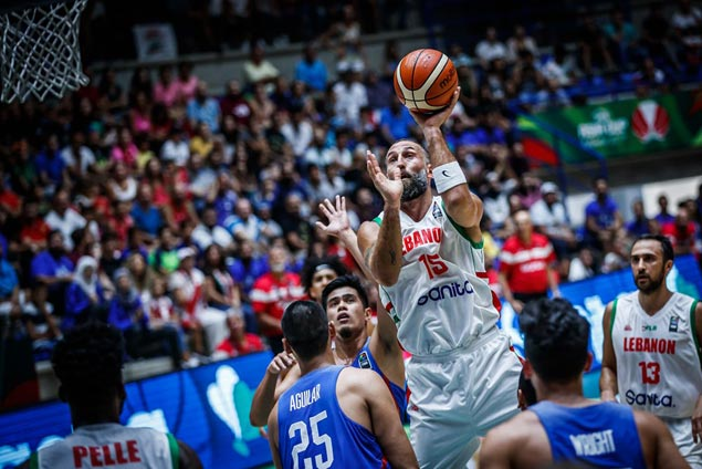 Dispirited Gilas pays for flat start against Lebanon, slips to battle for seventh place