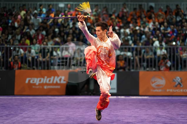 Two-time winner Daniel Parantac falls short of podium spot in SEAG wushu