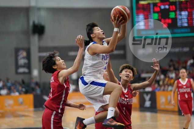 Perlas Pilipinas deals Singapore a beating to open gold quest on impressive note