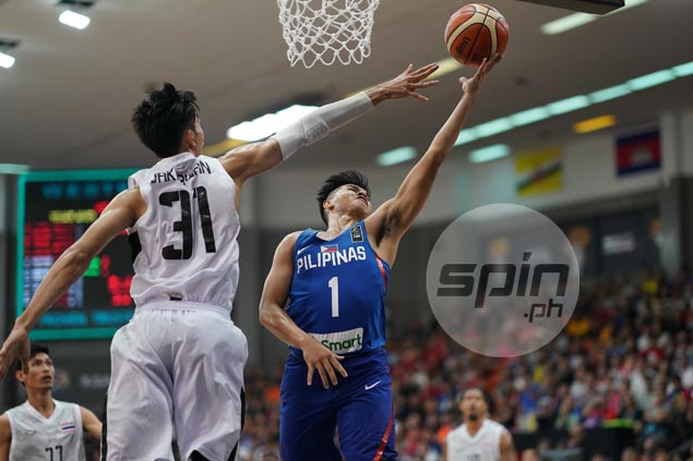 Kiefer Ravena steadies ship in endgame as Gilas survives fright from Thailand