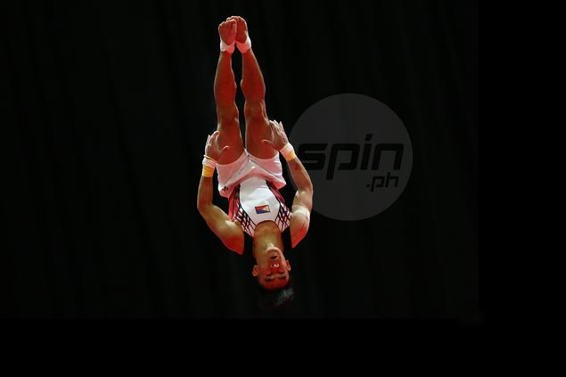 Reyland Capellan bags artistic gymnastics gold in KL Southeast Asian Games