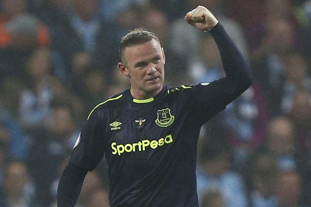 Wayne Rooney scores 200th Premier League goal as Everton draws with Man City