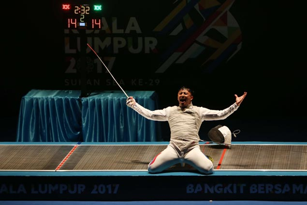 Philippine campaign shifts into high gear with two more golds from fencing, wushu