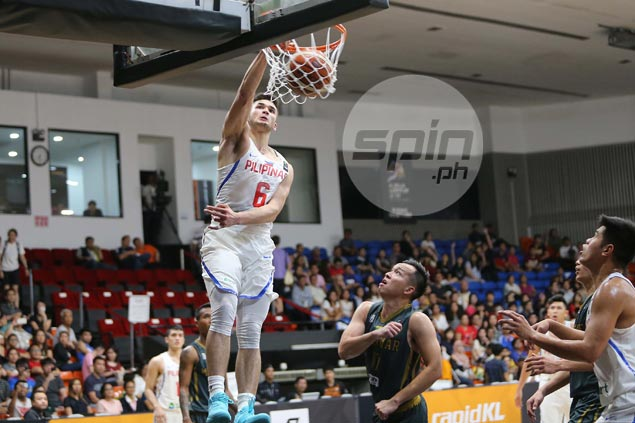 Grateful Kobe Paras makes most of extended minutes in Gilas romp over Myanmar